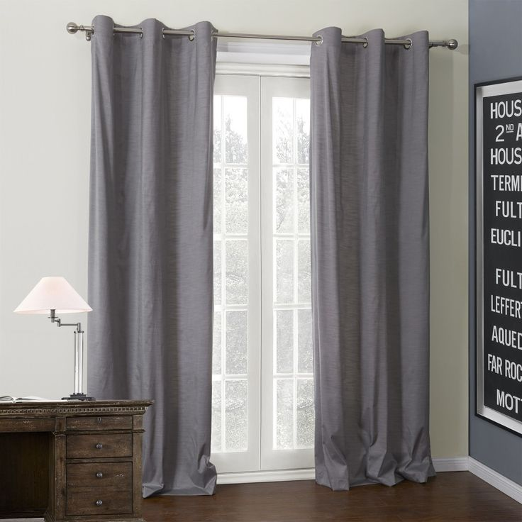 Classic Grey Coating Thermal Curtain  #curtains #homedecor #decor #homeinterior #interior #design #custommade