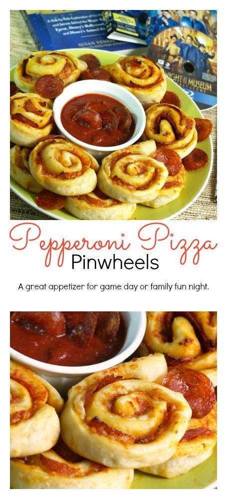 Pepperoni Pizza Pinwheels Recipe Pizza Pinwheels And