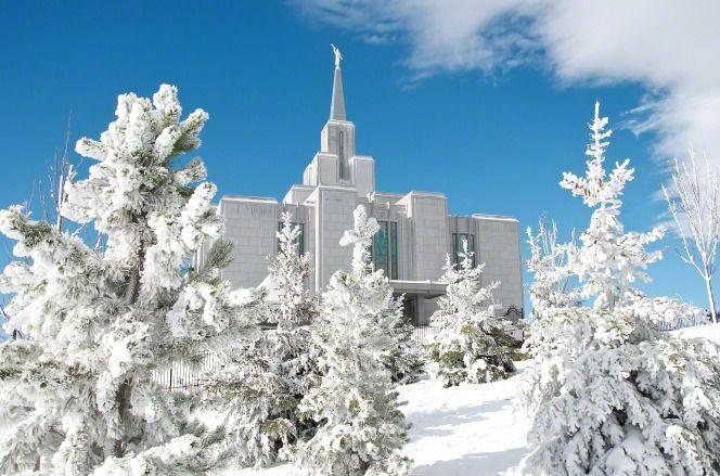 Calgary, Alberta, Canada Temple of the Church of Jesus Christ of Latter-Day Saints ♥