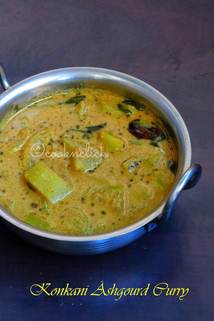 Kunvale Sasam, Konkani Ashgourd Curry
