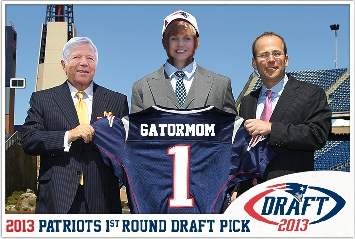 Im a New England @New England Patriots 1st-round draft pick! Check out my photo @Gillette Stadium: