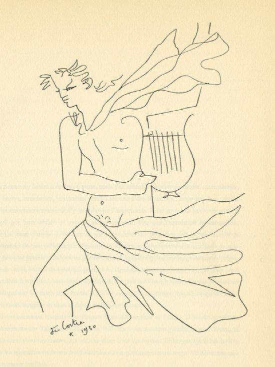 """Orpheus - From: """"Demarches d'un poète"""", 1930"""