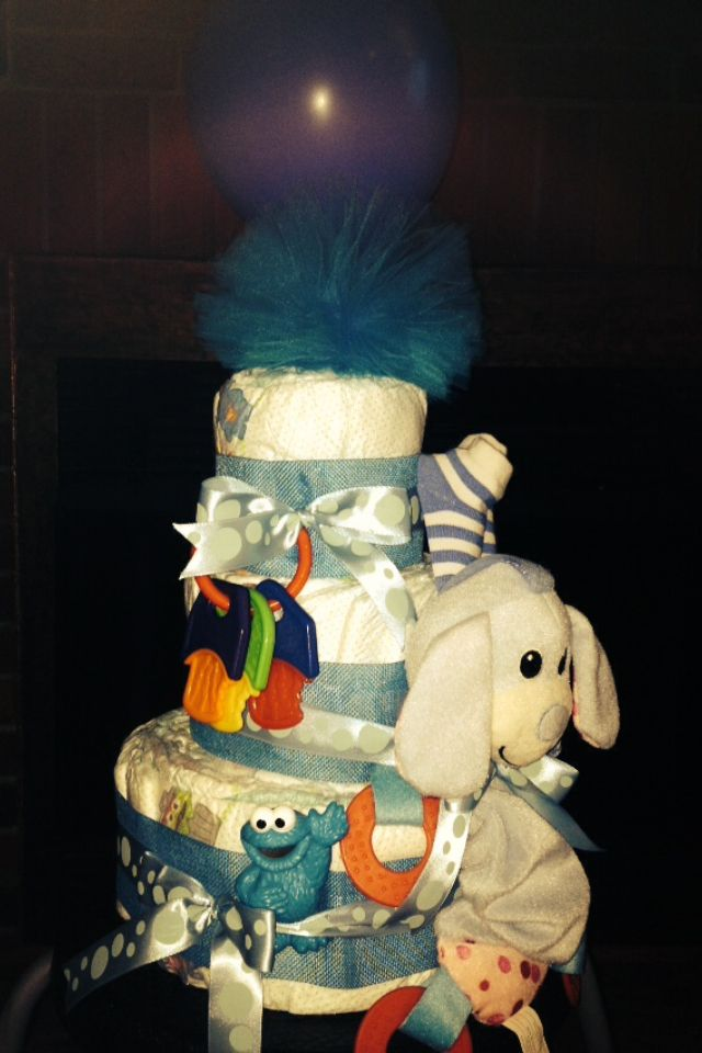 Diaper Cake #babyboy
