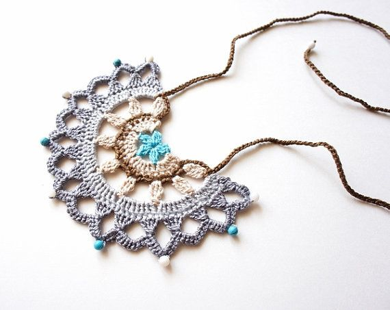 Crochet Pattern par JaKiGu PDF Instructions collier par JaKiGu