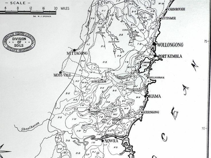 South coast NSW 1956