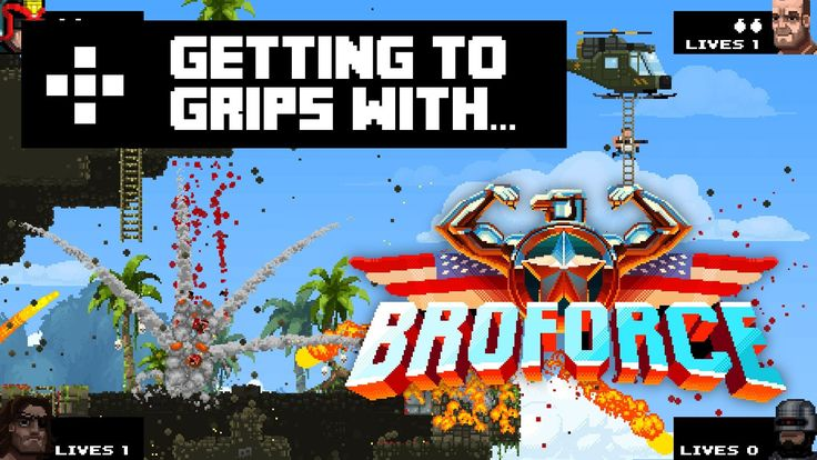 Rich jumps straight into Broforce and gives us his initial impressions. Broforce is now available as early access on Steam and is available for Windows and Mac. F**K YEAH! https://www.youtube.com/watch?v=AlxZXNP6bBE&list=UUD-vKobNupOy05QDuVmBznA