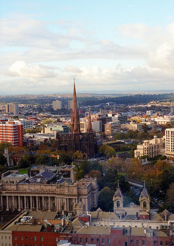 1  022 - 'Melbourne from my old office'