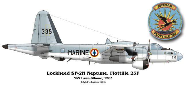 French Navy Lockheed P-2 Neptune