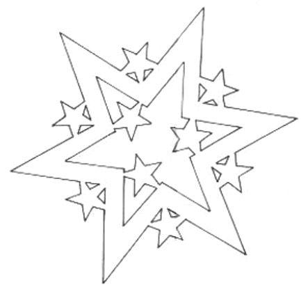 Christmas paper stars to make   Mashustic.com