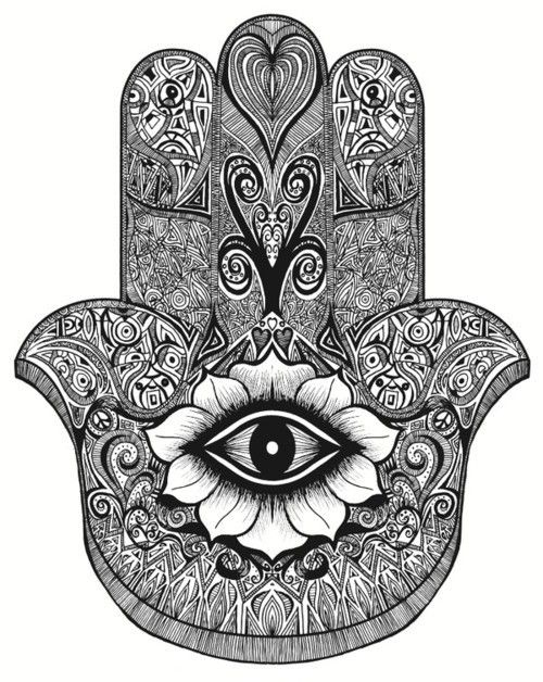 (The Hamsa hand. An Amulet against the 'evil eye') There are a many number of versions of the all seeing eye that we have not covered yet. Though firstly it is important to remind the reader that p...