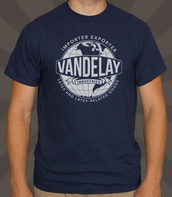 Vandelay Industries T-Shirt; love me some Art Vandelay/ George Costanza