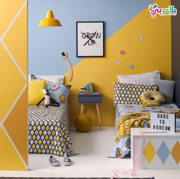 الوان غرف نوم اطفال جديدة دهانات غرف اطفال حديثة بالعربي نتعلم Kids Room Paint Kids Room Wall Color Room Wall Colors