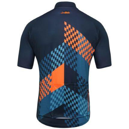 wiggle.com | dhb Blok Grid Short Sleeve Lightweight Roubaix Jersey | Short Sleeve Jerseys