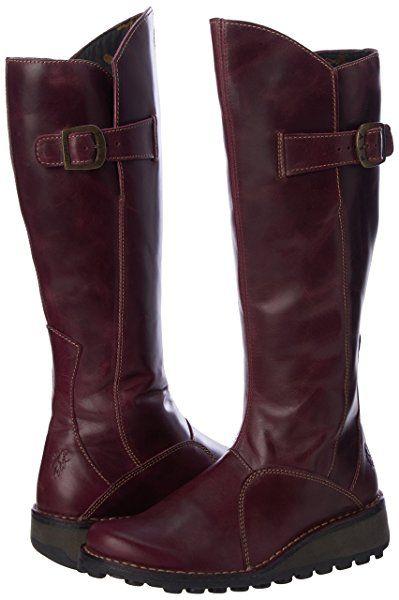009aef4281 Fly London MOL2 Women's Boots - Purple, 7 UK (40 EU): Amazon.co.uk: Shoes &  Bags