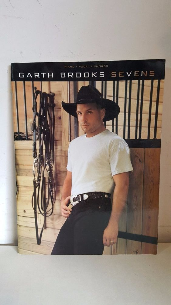 GARTH BROOKS SEVENS INSTRUCTIONAL PIANO VOCAL CHORDS GUITAR SONGBOOK 1997