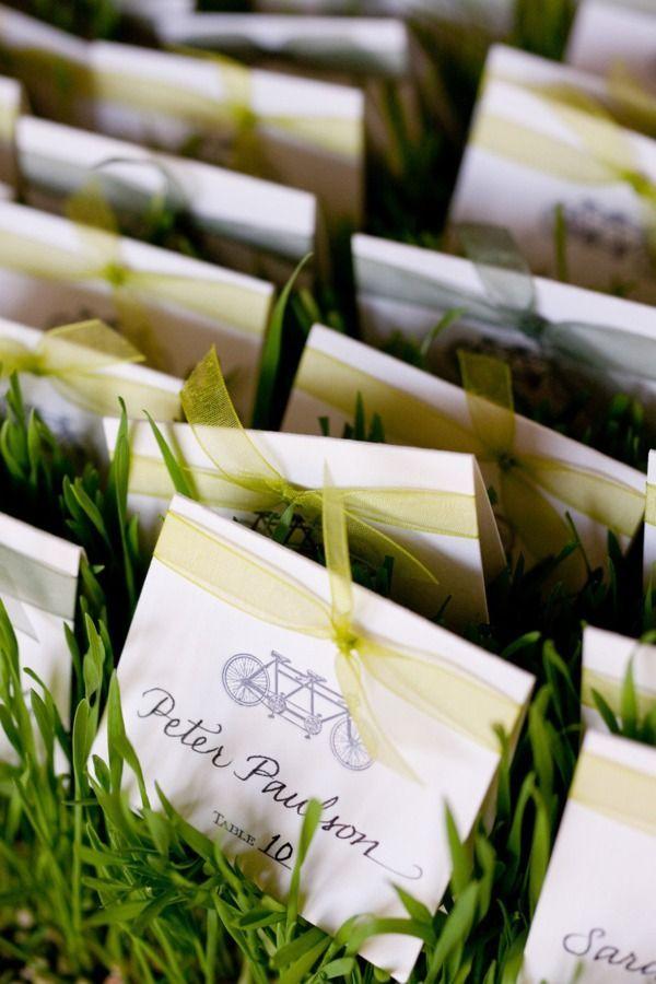 Garden wedding escort cards #weddingideas #escortcard #reception #gardenwedding #wedding
