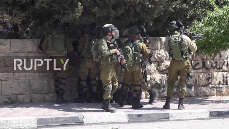 State of Palestine: Israeli forces fire tear gas at protesters as thousa... http://sowa-magazyn.blogspot.de/2017/04/pawe-potoroczyn-pdo469-w-stanie.html
