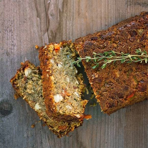 The Indie Broccoli: Christmas Loaf with Lentils and Quinoa