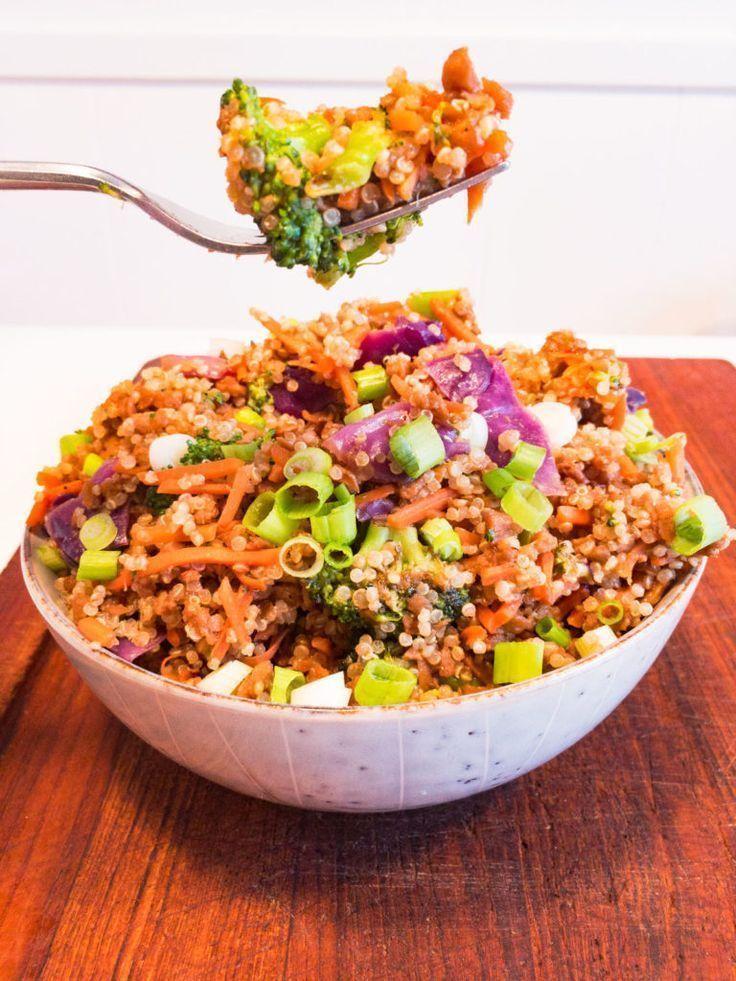 Vegan Beef Quinoa Bowl Vegan Beef Quinoa Bowl Quinoa Bowl Recipe