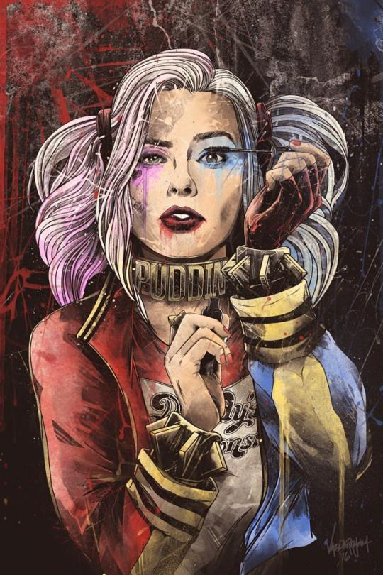 Dolled Up - Harley Quinn par JP Valderrama
