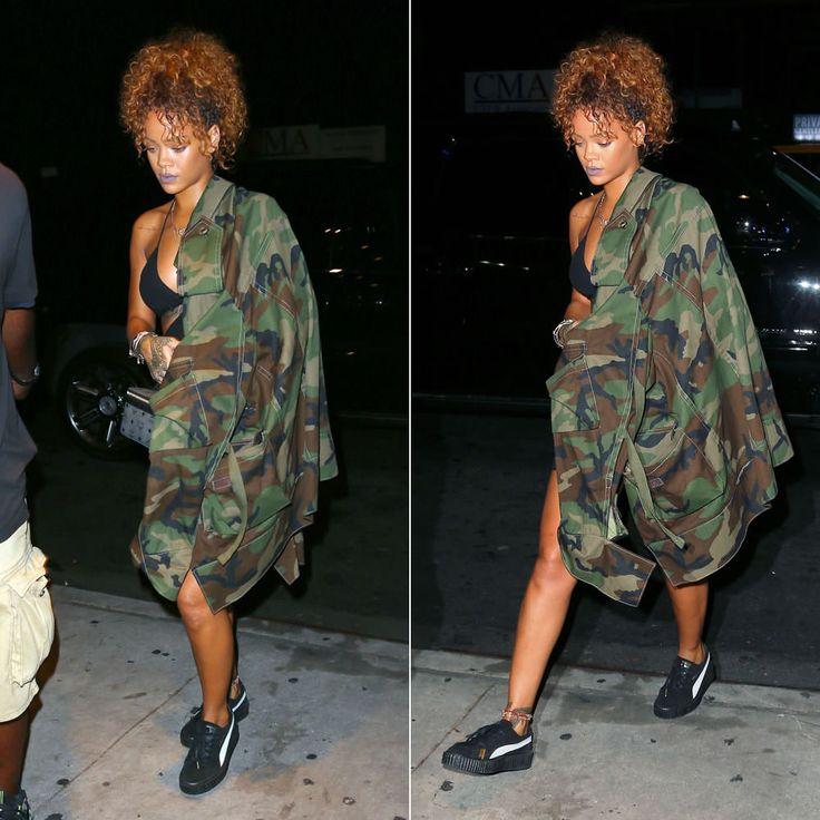 Puma Rihanna Creeper Camo