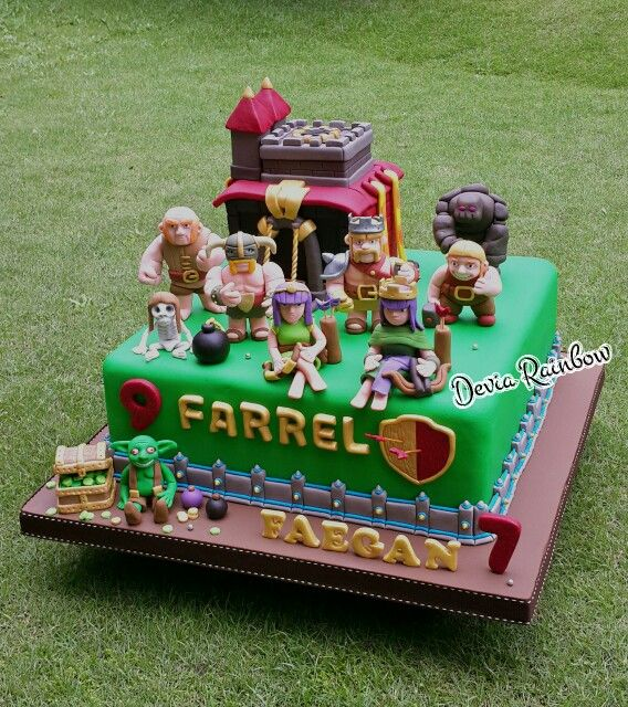 I want a clash birthday cake...please can somebody organise this for??? thanx!