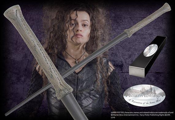 Bellatrix Lestrange's 2nd wand (her first was stolen from her).  From the Noble Collection.