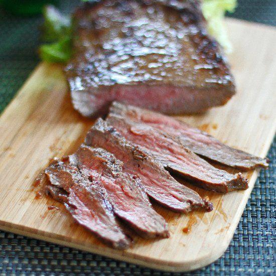 Grilled Asian Flank Steak Recipe — Dishmaps