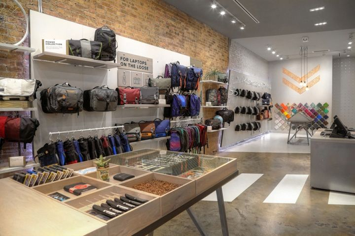 Timbuk2 Store by Gensler, Chicago – Illinois » Retail Design Blog