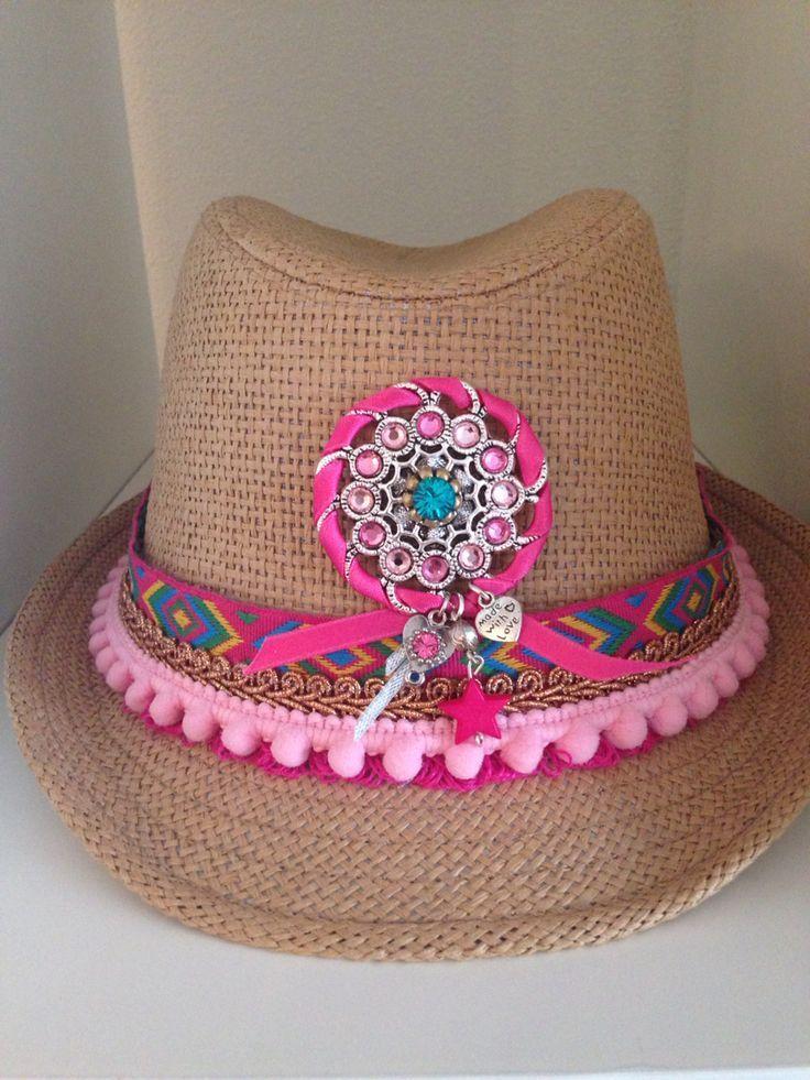 hot-vente dernier offre Style classique Ibiza hoedje roze | CHAPEAUX | Chapeau personnalisé, Chapeau ...