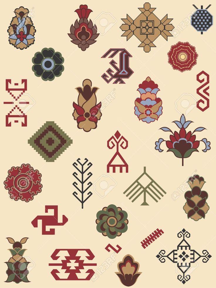 Persian Carpet Symbols - Carpet Vidalondon   Patterned ...