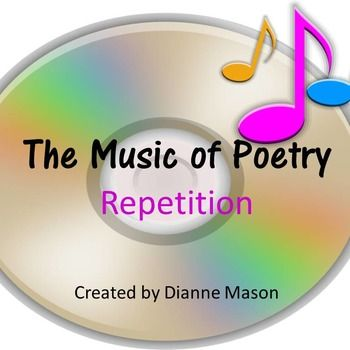 $ Using nursery rhymes and popular music as well as poetry, this short lesson on repetition gives students the ability to understand how repetition creates rhythm and enhances meaning. It includes the following items: A detailed teacher's guide with links to poems, A short Power Point Presentation to go along with the discussion,  A creative writing exercise, Suggestions for further discussion.