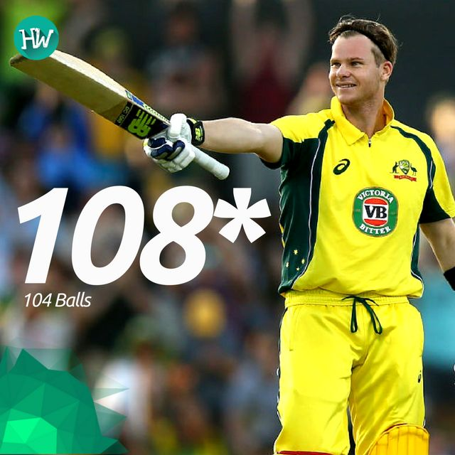 Another day, another century by Steve Smith. The captain led from the front yet again to give his team a lead in the series. #AUSvPAK #AUS #PAK #cricket