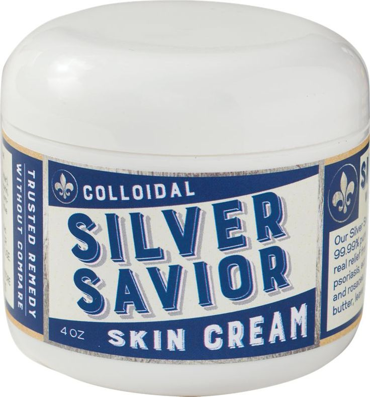 Colloidal Silver Healing Cream: It's the soothing and softening properties of almond oil, cocoa and shea butters, and glycerin combined with silver's antifungal, antibacterial, and antiseptic properties that make it so effective.