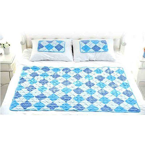 Hanil Cool Gel Mattress Bed Pad Cooling Topper For Summer Double