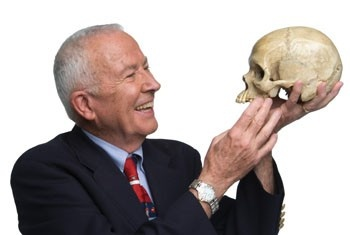 Dr. Bill Bass...University of Tennessee @ Knoxville.  Founder of The Body Farm favorite-celebs