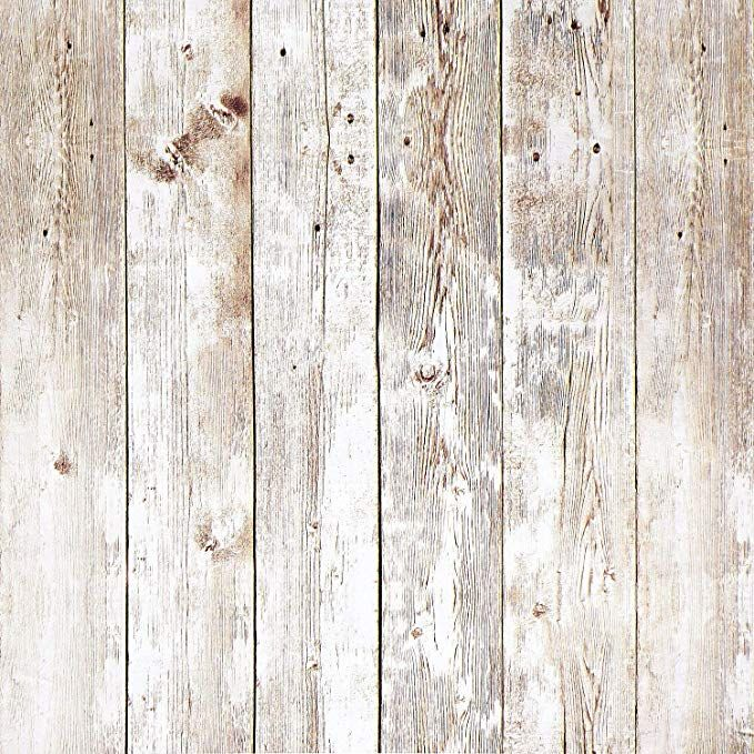 16.4Ft Rustic Wood Wallpaper Wood Plank Wallpaper Self