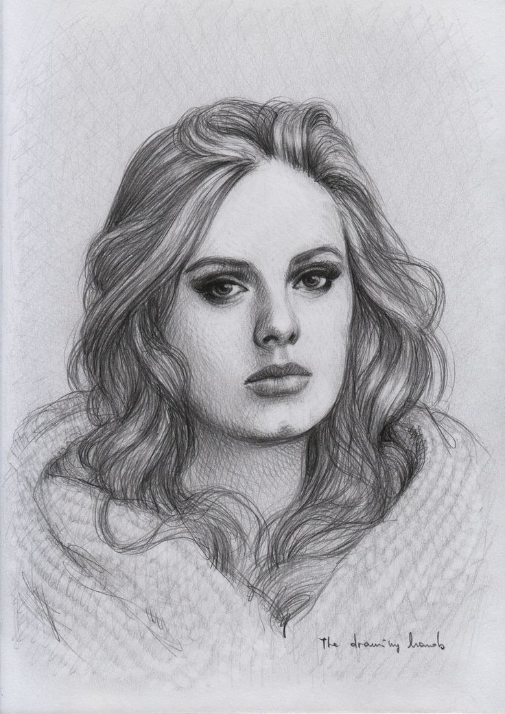 Adele by thedrawinghands.deviantart.com on @deviantART