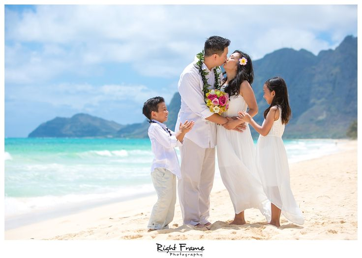 Beach Wedding Ceremony Oahu: 27 Best Wedding Vow Renewal In Oahu Hawaii Images On