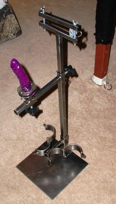 man riding the anal impaler