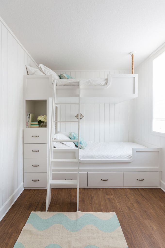 219 Best Images About Bunk Rooms On Pinterest Bunk Bed