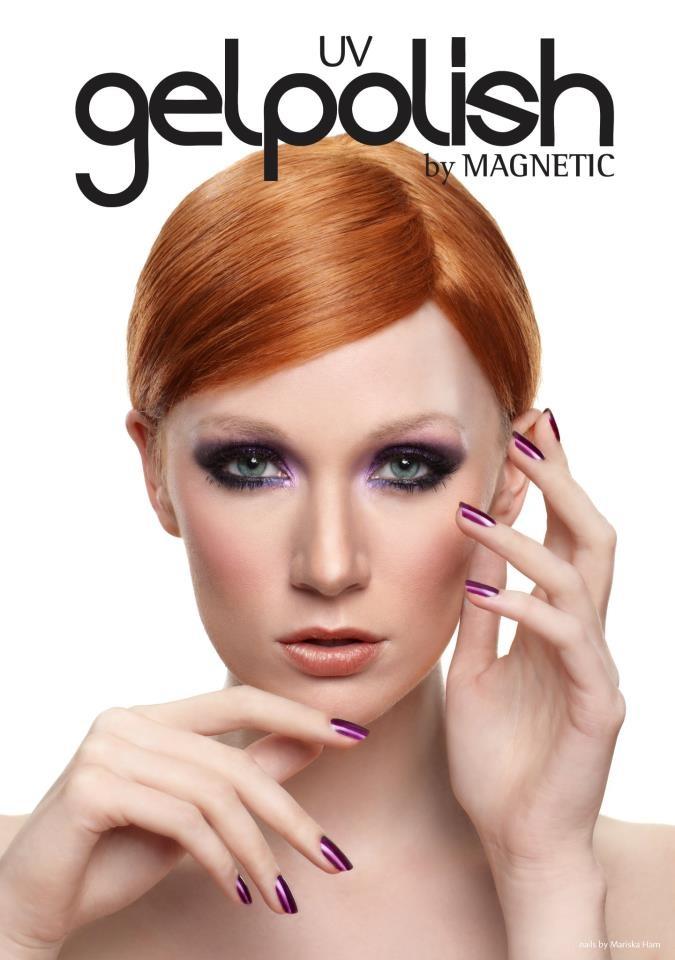 Magnetic Gelpolish, Nails by Mariska Ham