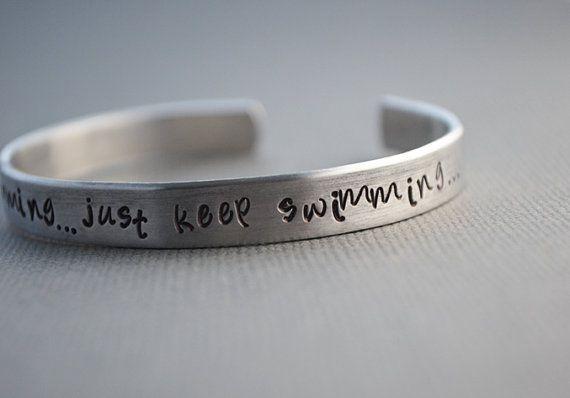 Just keep swimming :)
