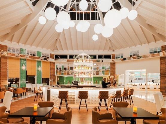 Restaurante del Hotel h10 en Fuerteventura con nuestros #azulejos #artesanales