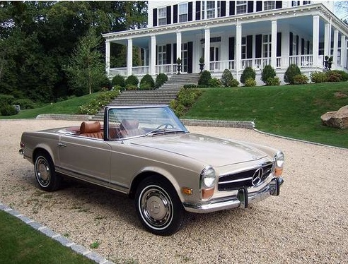 140 best mercedes w113 images on pinterest classic for Mercedes benz hunt valley