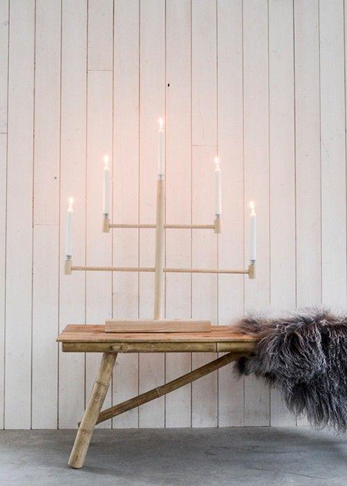 DIY Swedish Candelabra | helena nord at willowday