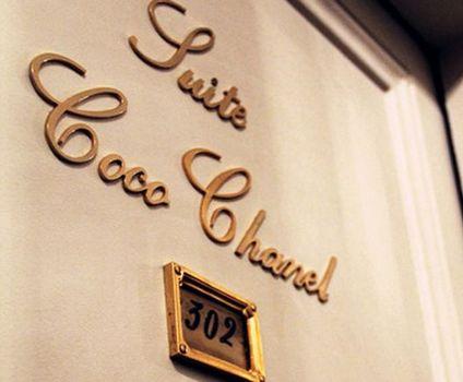 The Ritz Carlton Paris Coco Chanel Suite - Paris, France (via Pinterest.com)
