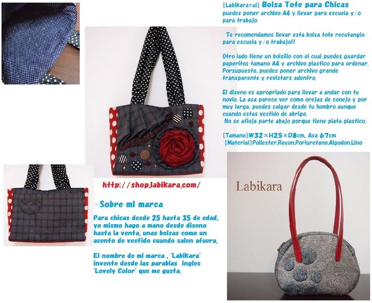 Labikara   Marca japonesa    Bolsas para chicas    http://shop.labikara.com/