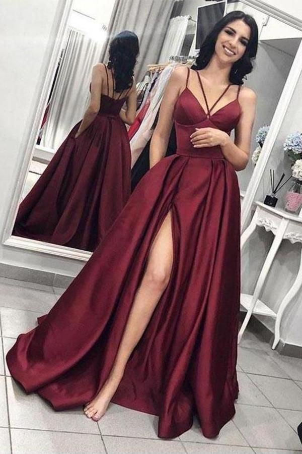 Pin on Prom Dresses with Slit