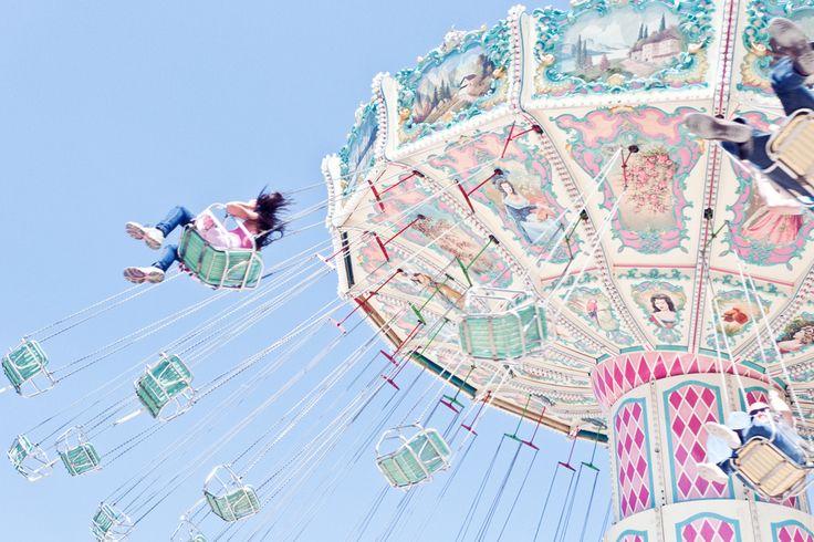 Les chaises volantes, l'animation incontournable de toutes les fêtes foraines de Paris 2013
